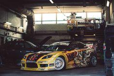 Finnish Twf Drift Crew -  Race car Mazda RX8
