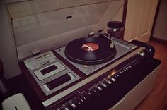 old stuff is better. My uncle had this exact stereo wooden speakersgreat sound quality...