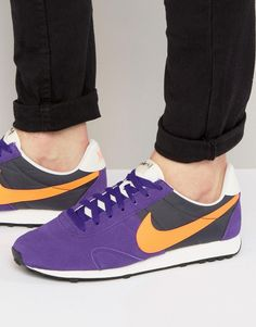 Get this Nike's sneakers now! Click for more details. Worldwide shipping. Nike Pre Montreal 17 Trainers In Purple 898031-500 - Purple: Trainers by Nike, Supplier code: 898031-500, Suede upper, Textile panels, Lace-up fastening, Branded tongue and cuff, Signature Nike Swoosh logo, Padded for comfort, Chunky sole, Textured tread, Wipe with a damp sponge, 50% Real Leather, 50% Textile Upper. Back in 1971 Blue Ribbons Sports introduced the concept of the Greek Goddess of Victory - Nike. Founded…