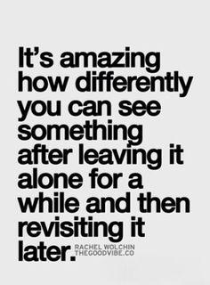 Perfectly said.......