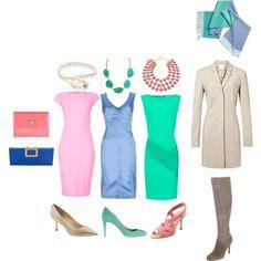 """DC Light Summer formal wear"" by jenr8 on Polyvore"
