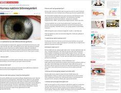 Kornea naklindeki gelişmeleri öğrenmek için Prof. Dr. Banu Coşar'ın  son yazılarını tıklayınız: http://haberturk.com/saglik/haber/1171709-kornea-nakli-hakkinda-merak-edilenler http://hayat.sozcu.com.tr/o-efsaneler-coktu-89108/ http://www.aksam.com.tr/saglik/kornea-goz-naklinin-bilinmeyenleri-12-maddede-kornea-nakli-hakkinda-bilinmesi-gerekenler/haber-474676 http://www.gazetevatan.com/kornea-naklinin-bilinmeyenleri-897899-saglik/