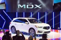 It's here and it's stunning! The 2017 Acura MDX at the 2016 NYIAS - Find the…