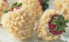 Got a box of Rice Bubbles? Then you're got some tasty kids' treats! These rice bubble recipes include chocolate crackles, rocky road, and Mars Bar slice. White Chocolate Strawberries, Chocolate Dipped Strawberries, White Strawberry, Rice Bubble Recipes, Three Ingredient Recipes, Milk Recipes, Cereal Recipes, Rice Crispy Treats, Gluten Free Sweets