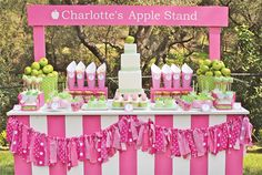 I would love to make a really cool stand for the kids to do lemonade or treats.