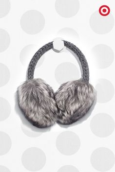 Cross faux fur off your gift list. These earmuffs are an easy way to embrace the trend, and they'll keep ears from getting too chilled. Plus, they're just really fun.