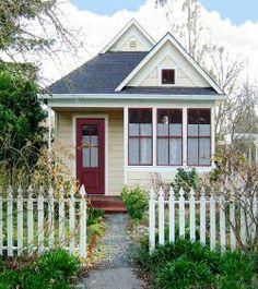 Katrina Cottage 4~with some tender loving care, it would be so charming!  via Txalteredart