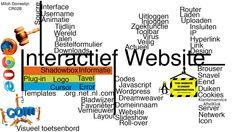 In dit 'woordweb' heb ik de woorden gezet waarbij ik denk aan wat een website zou kunnen hebben. Ook wat ik op mijn website zou kunnen gebruiken heb ik erop gezet zoals een zoekfunctie of een visueel toetsenbord. De website moet natuurlijk in alle brouwers kunnen werken en is in RGB kleur.