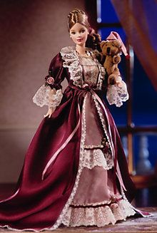 2000 Victorian Barbie® Doll with Cedric Bear™ - More World Culture Dolls