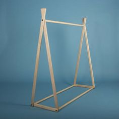 Natural Clothes Rack for Kids Clothes