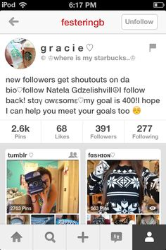 Plz go follow Gracie I absolutely love her boards and pins