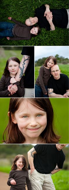 Nice Father daughter pic, I dont like the tattoo at all.