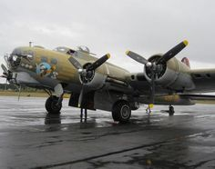 Boeing B-17 Flying Fortress.
