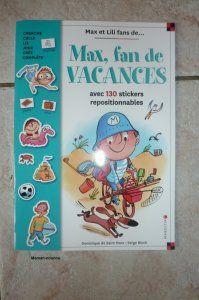 Panoplie de jeux de vacances Max et Lili