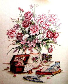 """Cross Stitch Book, By Leisure Arts, Leaflet 933. """"Cherished Moments"""" A Vintage…"""