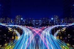 Découvrez la ville de Tokyo comme vous ne l'avez jamais vue avec ces clichés symétriques et lumineux