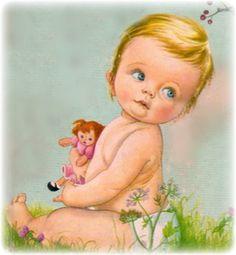 Eloise Wilkin ~ Baby Listens