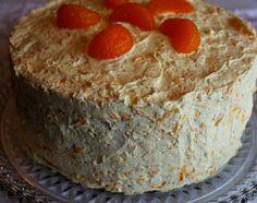 Sweet Tea and Cornbread: Aunt Ann's Coconut Orange Cake!