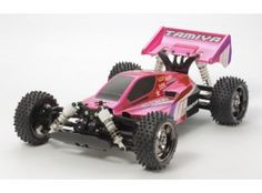 Tamiya TT-02B Buggy Neo Scorcher Rose métal KIT 84387