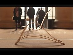 CNC Project: Kerf Chair Designed by Boris Goldberg w/Amana Tool Industrial Router Bits - YouTube