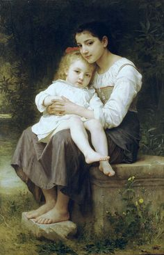 Big Sis by William-Adolphe Bouguereau