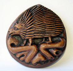 Hedgehog Wall Plaque English Medieval by MedievalKnight on Etsy, $21.00