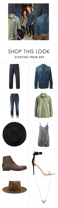 """Celeb Couple: Vanessa Hudgens & Austin Butler"" by hollowpoint-smile ❤ liked on Polyvore featuring DRKSHDW, Golden Goose, Dsquared2, Ralph Lauren, Lost & Found, Marsèll, Gianvito Rossi, Nick Fouquet and Louis Vuitton"