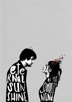 """Eternal sunshine of the spotless mind"" (Olvídate de mí) de Michel Gondry. Poster by Peter Strain"