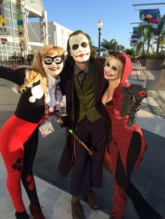 Joker and Harley Quinn's traditional Harley Quinn by Cosplay-heronie at LBCC 2014