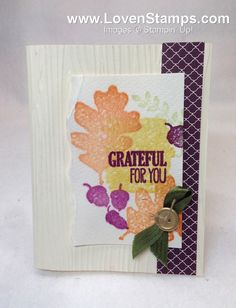 Stampin' Up! Demonstrator – Meg Loven – Video Tutorials, Project Ideas, Order Online Any Time » Blog Archive » Stampin Techniques 201: Faux Watercolor