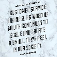 Create a culture in your business of extreme customer service. Its what people want! #garyvaynerchuk #garyvee