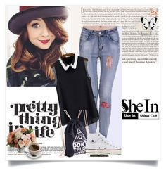 """""""shein love 9"""" by amra-piric ❤ liked on Polyvore"""