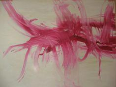 Fiona Tyler - Abstract  oil on canvas 36 x 48