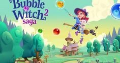 Bubble Witch 2 Saga Apk v1.46.2 (Mod Boosters/Lives/Moves)
