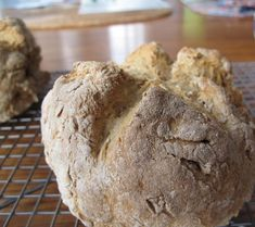 """Before this week, I didn't realize that Sister Mary's Irish Soda Bread is not Irish, it's Irish-American. I adore the rich and raisin-filled bread, and I've usually made it (or a close approximation) each year as St. Patrick's Day rolls around.I do fondly remember eating earthy, unsweetened brown bread when my family traveled to Ireland about 15 years ago. We called it """"brown bread"""" and let it go at that. I had no idea that the thick hand-cut slices I devoured in every pub, restaurant…"""