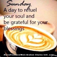 Refueled and grateful! #LiveFreeLoveWell BrokenChainsIntl.com