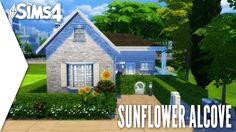 THE SIMS 4 SPEED BUILD #277 - SUNFLOWER ALCOVE