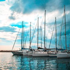 Smell the #sea and feel the sky Let your #soul and #spirit fly www.SailChecker.com #sailboat #sky #sailing #sailingstagram #sailboat #sailinglife #boats #sailor #wednesday #wanderlust #water #ocean