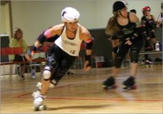 Getting Up to Speed in Roller Derby | Skate Tip of the Week by Debbie Rice.  **interesting tip about skating on a line to check your stride.**