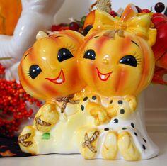 Mr. and Mrs. Pumpkinhead