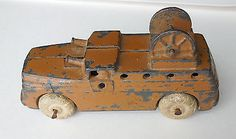 BARCLAY MANOIL LEAD TOY SOLDIER MILITARY TANK MACHINE GUN CAR Antique 1 - http://hobbies-toys.goshoppins.com/toy-soldiers/barclay-manoil-lead-toy-soldier-military-tank-machine-gun-car-antique-1/