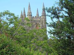 The convict built church at Port Arthur Historic Site, #Tasmania