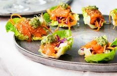 Food For A Crowd, Canapes, Fish And Seafood, Bruschetta, Appetizers, Mexican, Dinner, Ethnic Recipes, Centerpieces