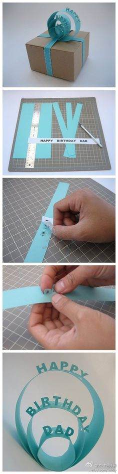 Do person's name, like a gift tag. Sooo good idea!!!
