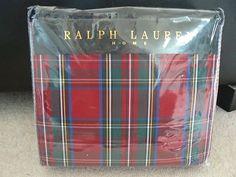 Ralph Lauren  Duvet Cover Dress Stuart Tartan - Gorgeous for the holidays!  L*O*V*E!