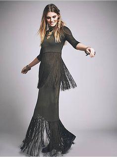 Free People Skye Fringe Maxi Dress, $595.00
