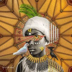 Afrofuturism Collages of Kaylan Michel – Trendland Online Magazine Curating the Web since 2006 Soul Collage, Collage Artwork, Futurism Art, Afro Art, Magazine Art, African Art, Oeuvre D'art, Art Inspo, Art Drawings
