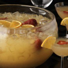 New Year's Champagne Punch