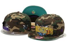 New Orleans Hornets NBA Snapback Hats New Era White 246