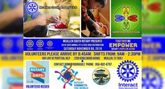On Saturday, November 9, 2019, CARITAS and Rotary International clubs of McAllen South, McAllen Rotary Club, Edinburg Rotary Club, and McAllen Evening Club will be at Our Lady of Perpetual Help Catholic Parish in McAllen, Texas to distribute New Running Shoes to over 1,400 children from the McAllen area. Middle School, High School, Mcallen Texas, Rotary Club, Service Projects, School Counselor, School District, Our Lady, Catholic
